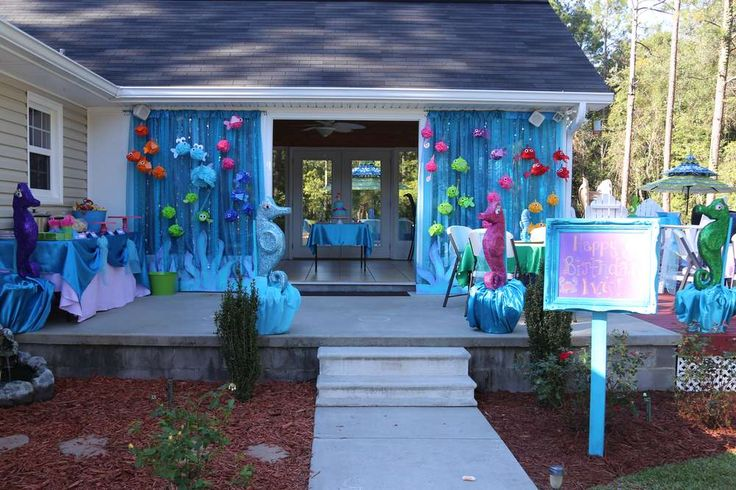 Ivy's Under the Sea 4th Birthday Party | CatchMyParty.com