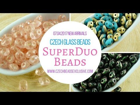 Czech Glass Beads: SuperDuo Beads � New Arrivals 07.04.2017 | CzechBeadsExclusive