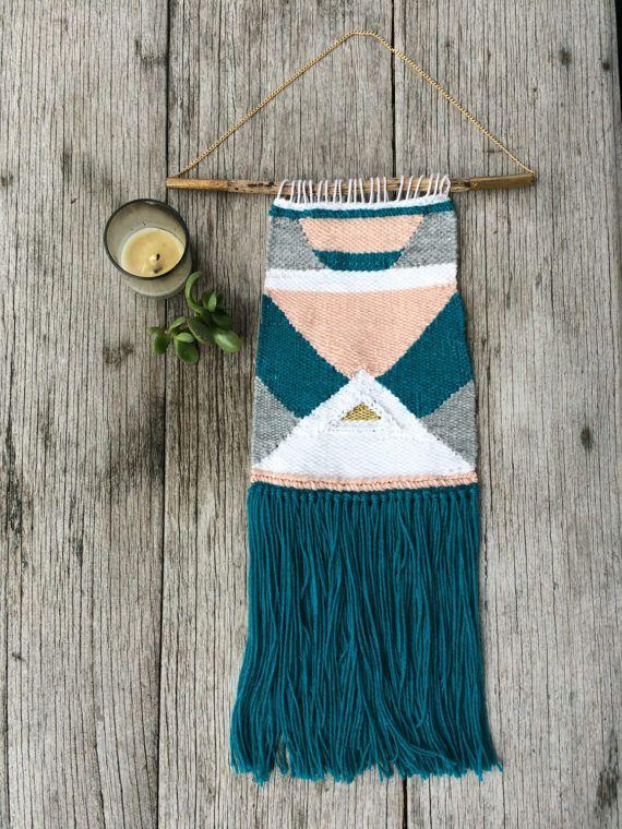 SOFIA Handmade woven wall hanging/ Hand weaving/ Wall Art