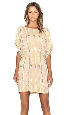 Hoss Intropia Embellished Dress in Light Pink