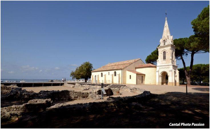 Chapelle d'Andernos les Bains. Arcachon. Aquitaine