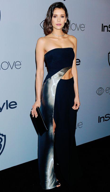 Nina Dobrev at the Golden Globes After Party 2018
