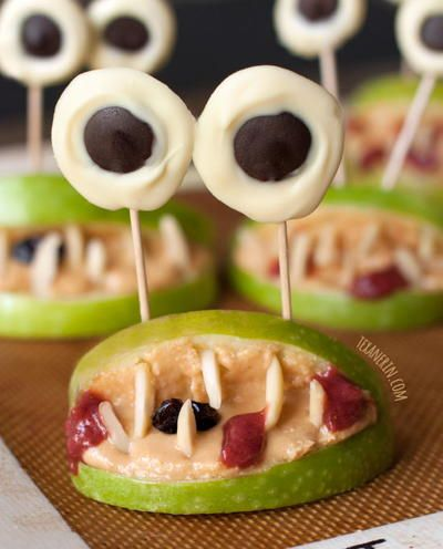 halloween monster mouths - Great Halloween Appetizers