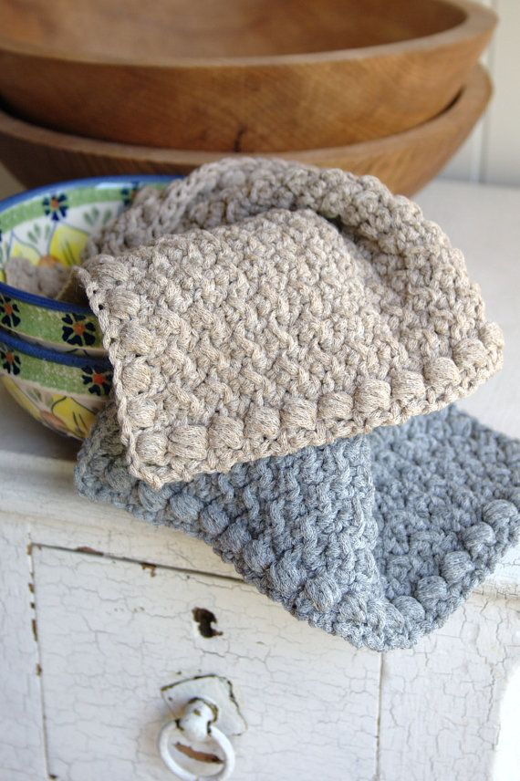 515 best Knit/Crochet: potholders, dish cloths, scrubbies, etc ...