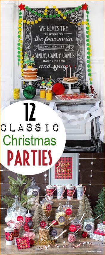 Christmas Party Themes Christmas Party Pinterest Christmas