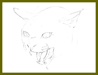 angry animal drawing - photo #36