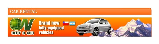 List of car rental companies in El Calafate