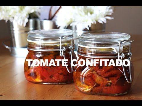 Tomate Confit (conserva de tomatinhos) - YouTube