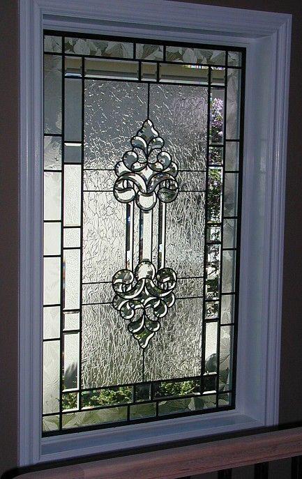 beveled glass window by Transparent Dreams Glass Studio