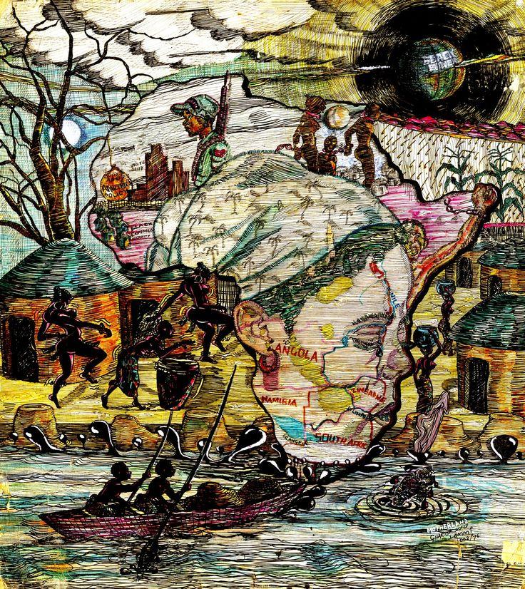 """""""motherland"""" by Lemi Ghariokwu"""