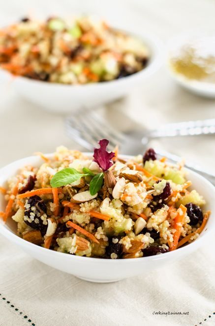 Post image for Honey Mustard Quinoa Salad