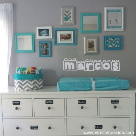 M s de 1000 ideas sobre paredes de color gris claro en - Color paredes habitacion bebe ...