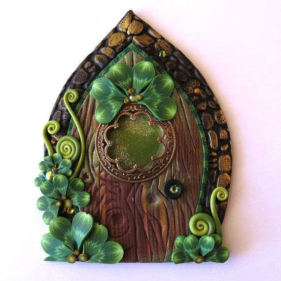 25 best ideas about leprechaun on pinterest march for Irish fairy door ideas