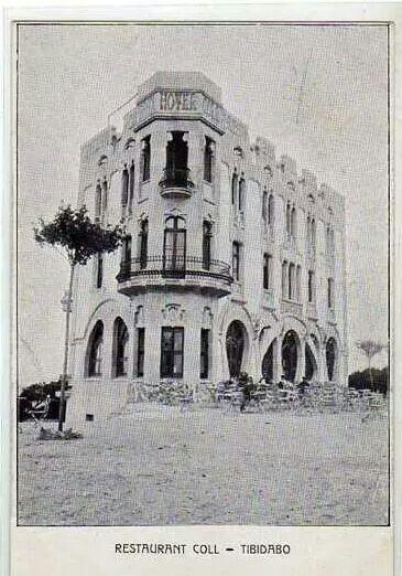 Hotel Coll,Tibidabo..1930