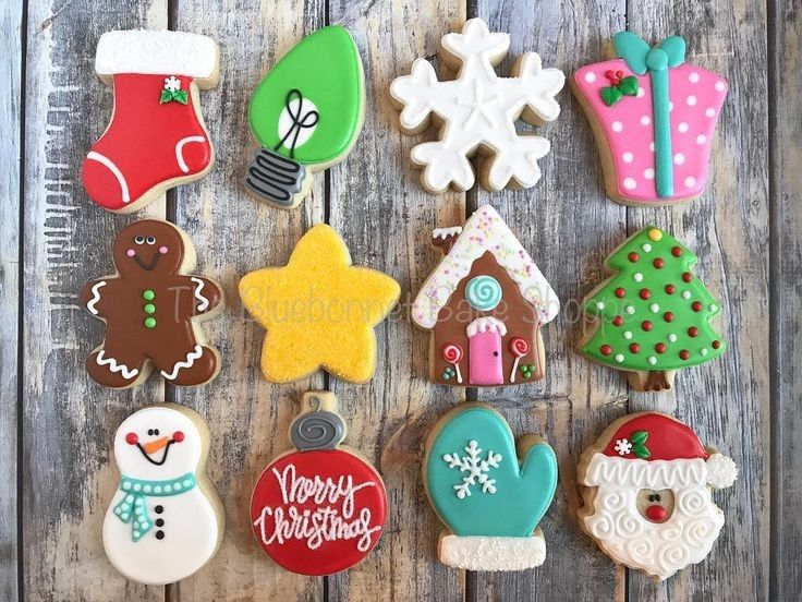 807 Best Decorated Cutout Cookie Ideas Images On Pinterest