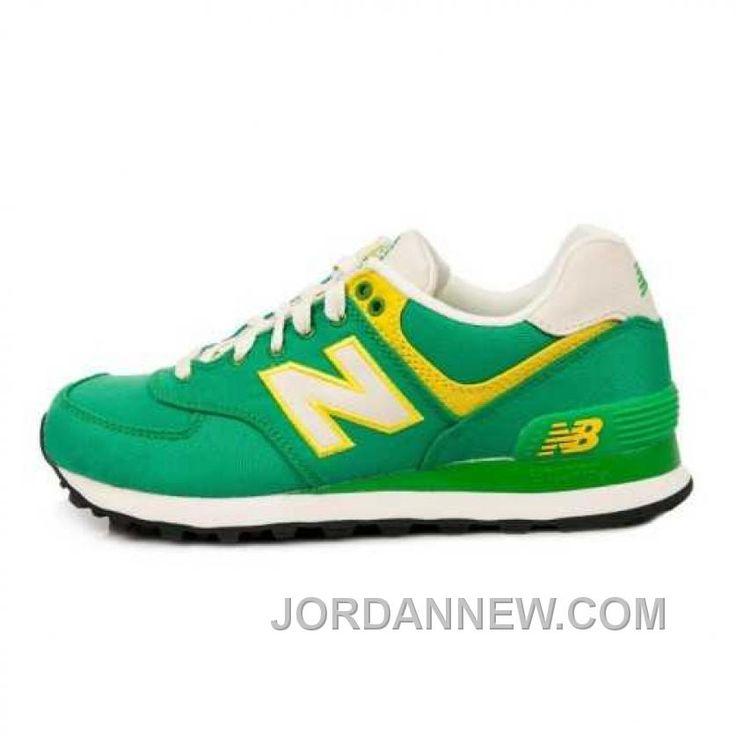 new balance yellow and green