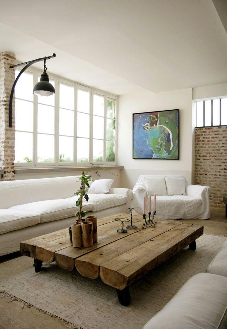 Quai Est: DECO - Un magnifique loft à Paris
