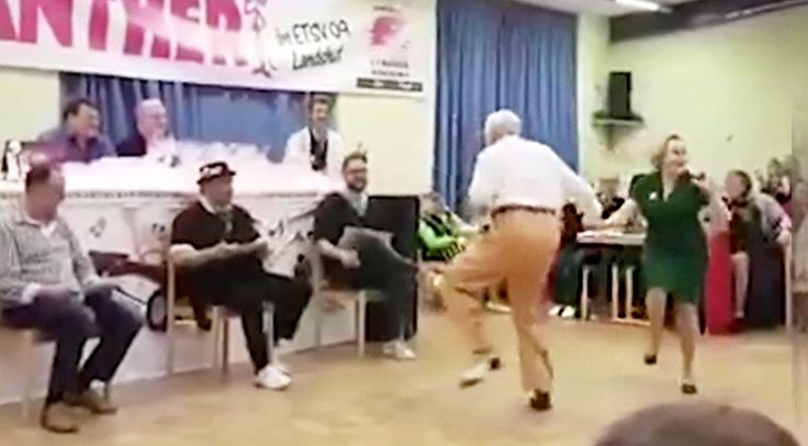 Country Music Lyrics - Quotes - Songs Viral content - Old Couple Proves Age Means Nothing During Epic Swing Dance You Must See To Believe - Youtube Music Videos https://countryrebel.com/blogs/videos/old-couple-proves-age-means-nothing-during-epic-swing-dance