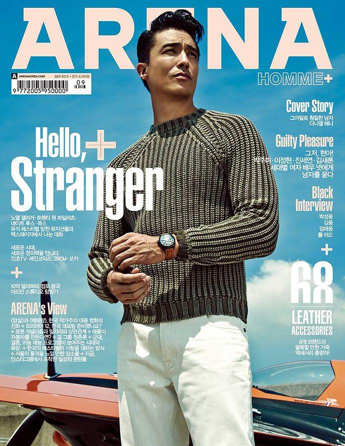 Daniel Henney Covers September 2015 Arena Homme+ Korea