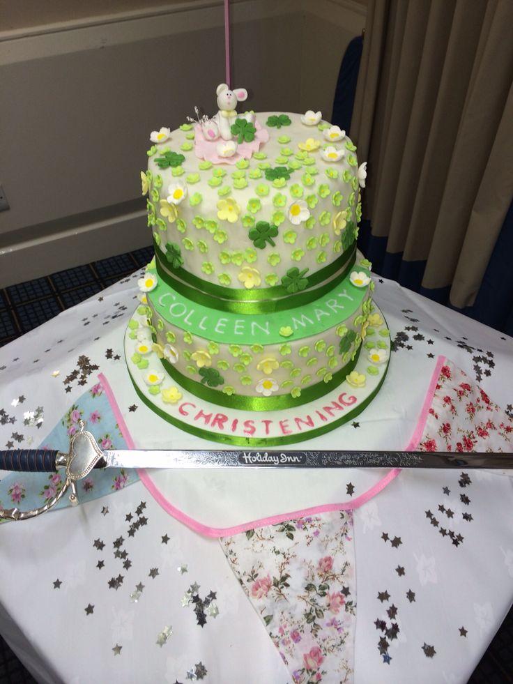 Colleen's Christening cake.