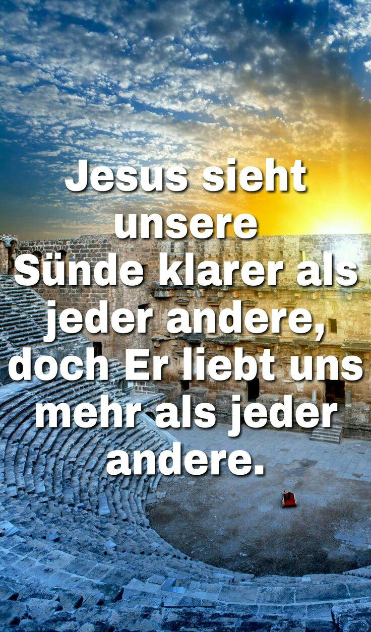 #JESUS - #sieht - (#ALLE !)- #unsere - #Sünden -klarer-als- #alle-Menschen! - #DOCH : - #JESUS - #LIEBT - #UNS - #auch - #MEHR - #als - #ALLE - #Menschen ! -#In - #ihm-#begegnet-#uns-die- #Liebe -#von: - #GOTT -#himml.- #VATER -selbst ! - #GOTT -#IST -die- #LIEBE* -selbst ! - #Nicht-wie-unsere ! - #GOTT- = -#Die- #WAHRE - #LIEBE - #IST: - #REIN - #VOLLKOMMEN - #EWIG - #GUT - #BEDINGUNGSLOS - #UNENDLICH - #ECHT - #WAHR - #unermesslich - #Gross - u.n.v.m.