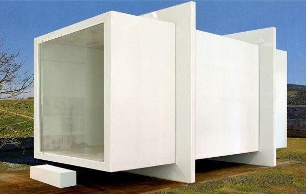 ABSOLUTE BOX Small House Post Disaster by Anna Rita Emili for altro_studio