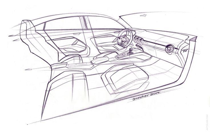 2014 Audi TT Sportback Concept #Concept #Segment_S #Mondial_de_l_Automobile_2014 #S_Tronic #Quattro #CO2 #European_brands #Audi #Audi_TT_Sportback