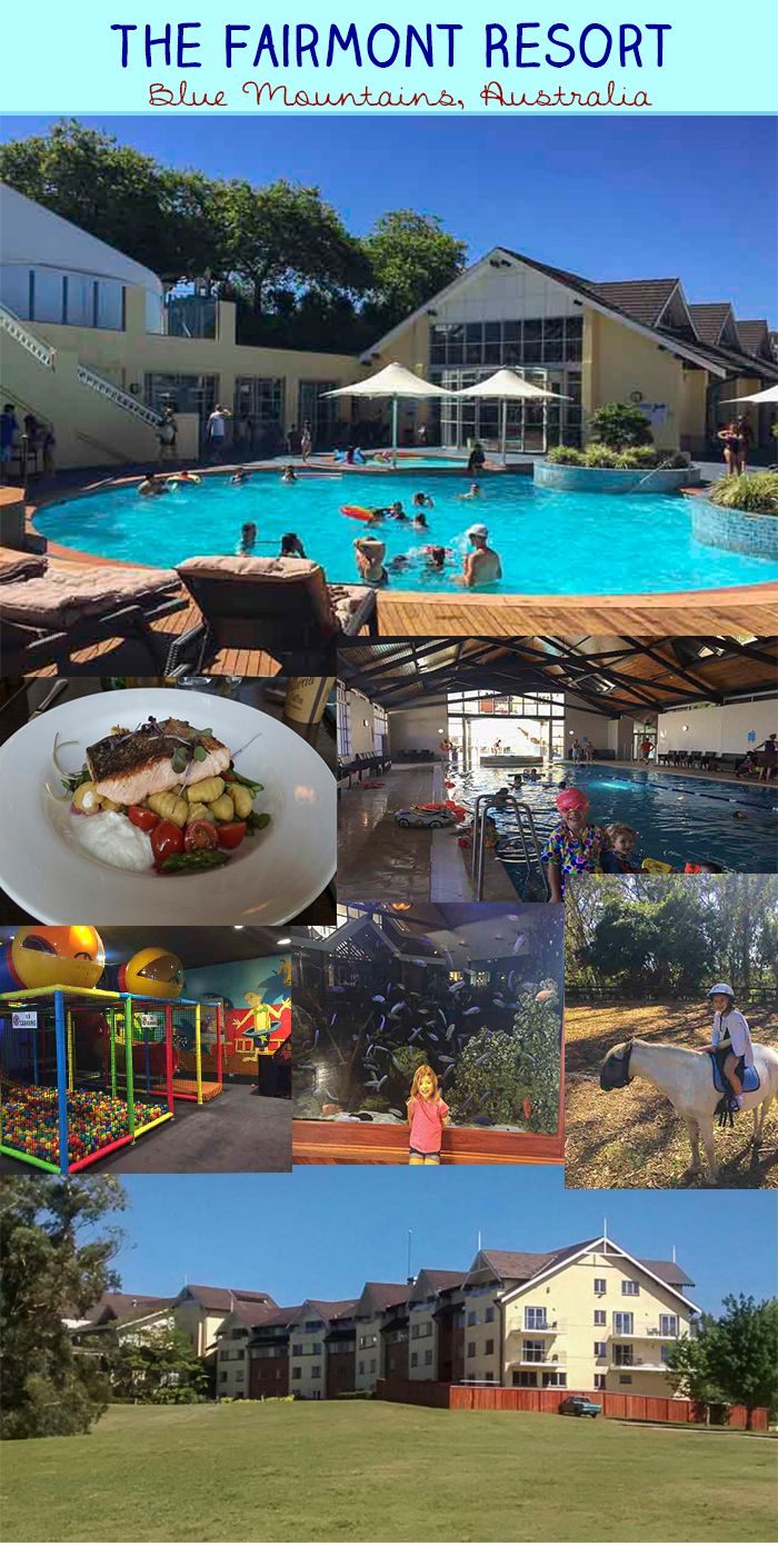 Check out one family's review of the delightful Fairmont Resort, an icon in the Blue Mountains of Australia. This resort makes a fantastic weekend away for Sydney families and families visiting Australia.