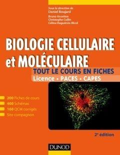 BU LILLE 1 Sciences de la Vie    Biologie cellulaire et moléculaire (2° Éd.)   Cote 571.6 ANS