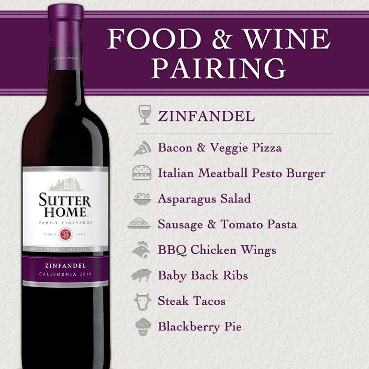Sutter Home Wine & Food Pairing Series: Zinfandel