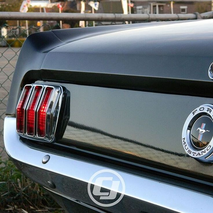 Mike's 1965 #Mustang teases just enough to make you want to see more.