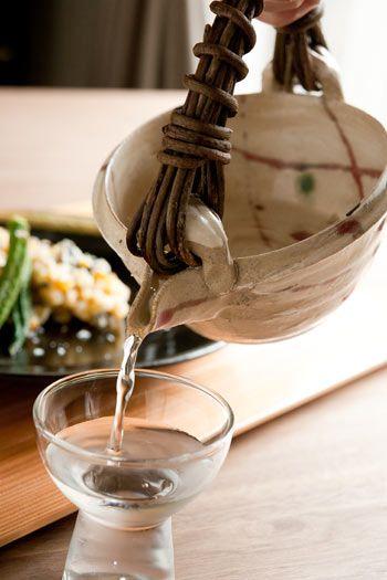 Shigaraki Ware for Chilled Sake 信楽焼