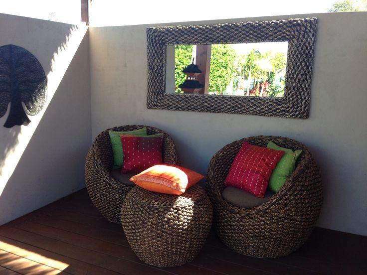 Balinese tub chairs