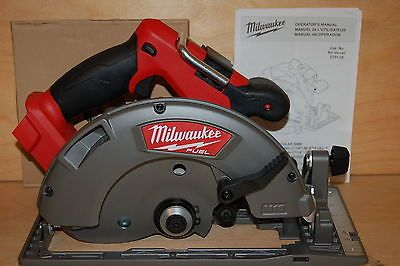 "New Milwaukee 2731-20  M18 Fuel 7-1/4"" 18v  Cordless Circular Saw -tool only"