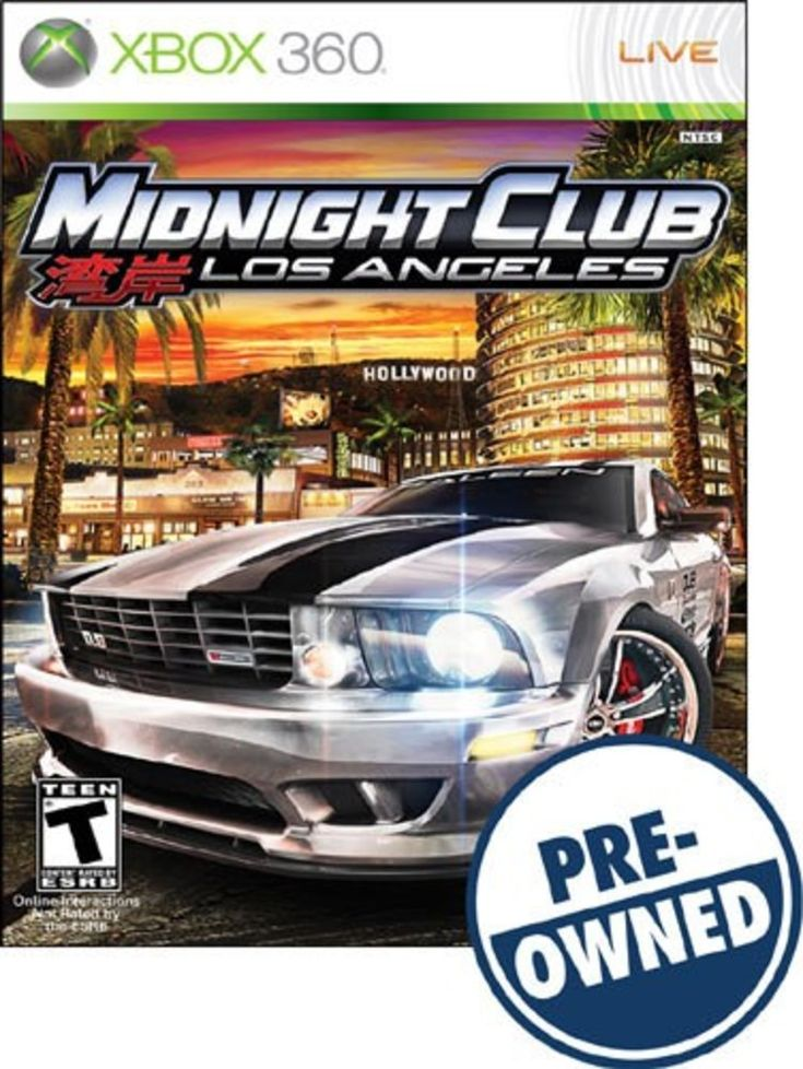 Midnight Club: Los Angeles — PRE-Owned - Xbox 360