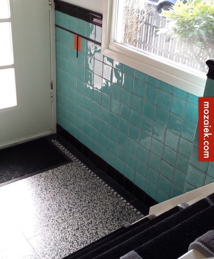 Meer dan 1000 idee n over groene tegels op pinterest tegel architectonische berging en badkamer - Groene metro tegels ...