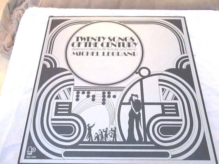 Michel Legrand - Twenty Songs Of The Century 2 LP VG+ BSQ 4200 Quad Record