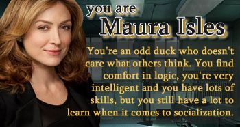 Rizzoli and Isles - Personality Quiz Result