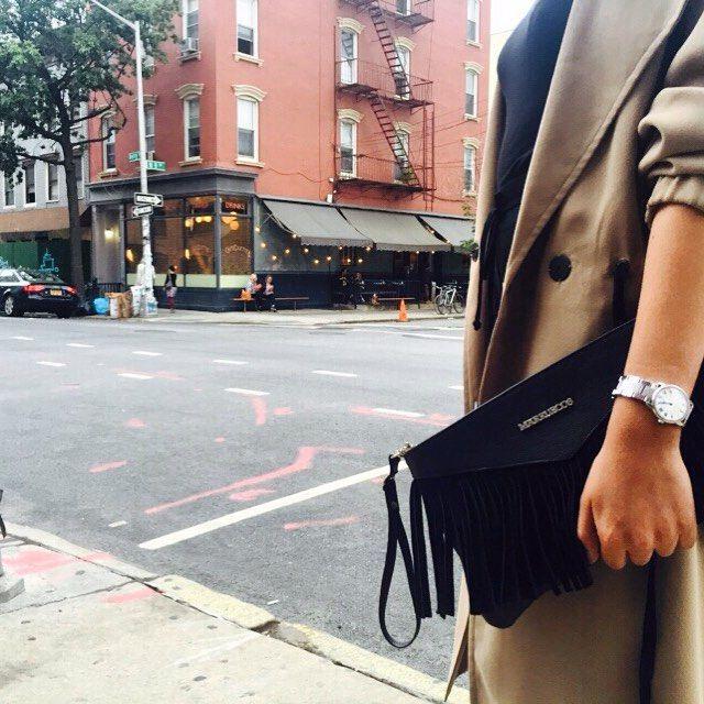 Nuevo! Bolso de mano con bandolera.  #marruecos1986 #bags #leather @cafe_colette #brooklyn #nyc #williamsburg