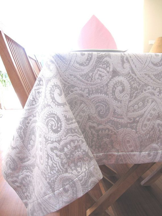 Custom Made Tablecloth Modern Fancy Entertaining Home