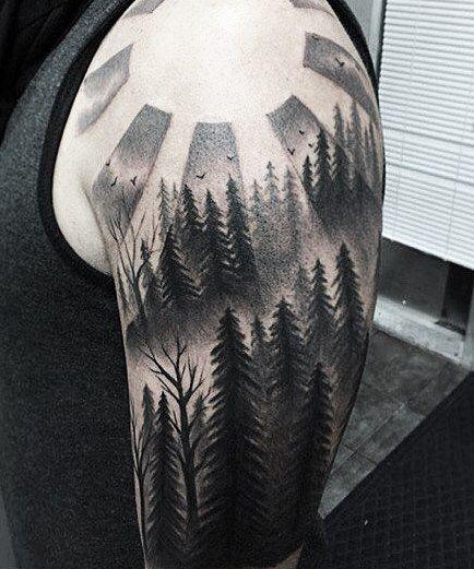 Черно белые | 1000 идей новой татуировки