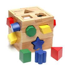 Image result for wooden shape sorter