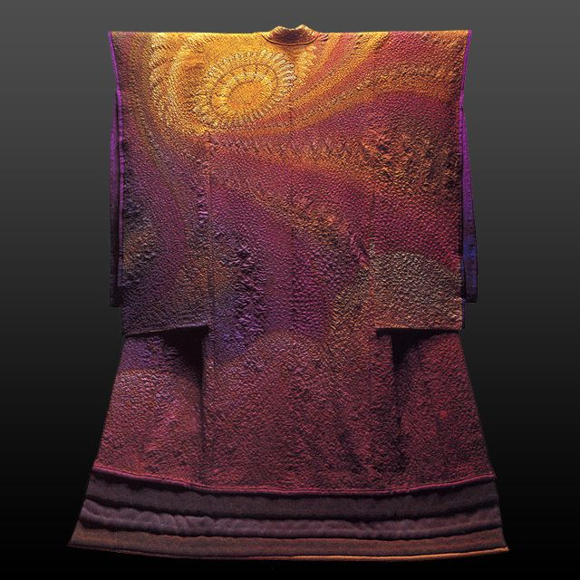 #kimono as art by Itchiku Kubota