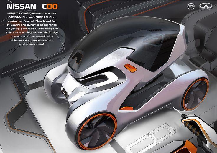 查看此 @Behance 项目: \u201c 2016 Nissan Design Center & CAFA Nissan Coo Concept\u201d https://www.behance.net/gallery/47737885/-2016-Nissan-Design-Center-CAFA-Nissan-Coo-Concept
