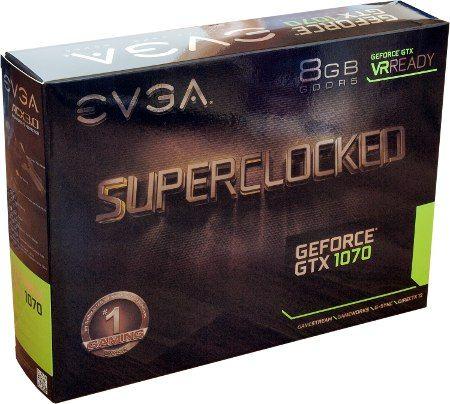 Обзор и тестирование видеокарты EVGA GeForce GTX 1070 SC Gaming ACX 3.0 - Overclockers.ru