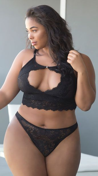 ab13008af60 Plus Size Josilyn Lace Thong
