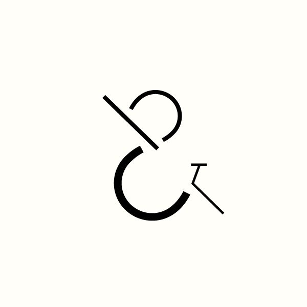 C&B Monogram concept for interior and architectural designer by Richard Baird.