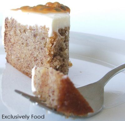 Exclusively Food: Banana Cake Recipe