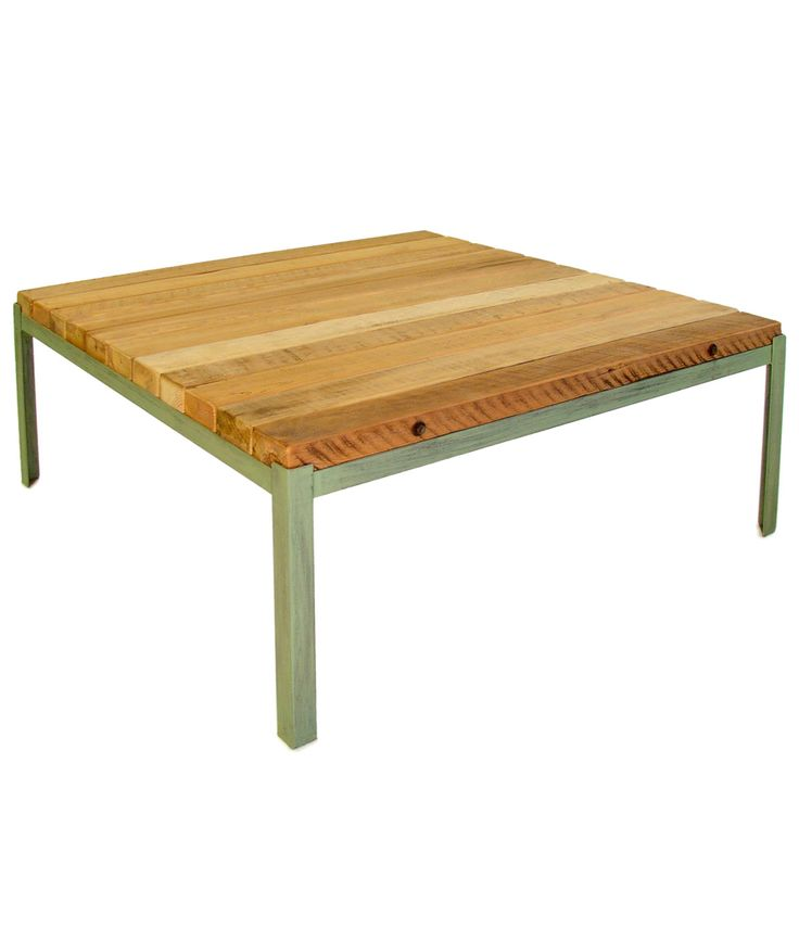 RECLAIMED WOOD OUTDOOR COFFEE TABLE | Recycled, Barn, Woods, Tables, Outdoor ,