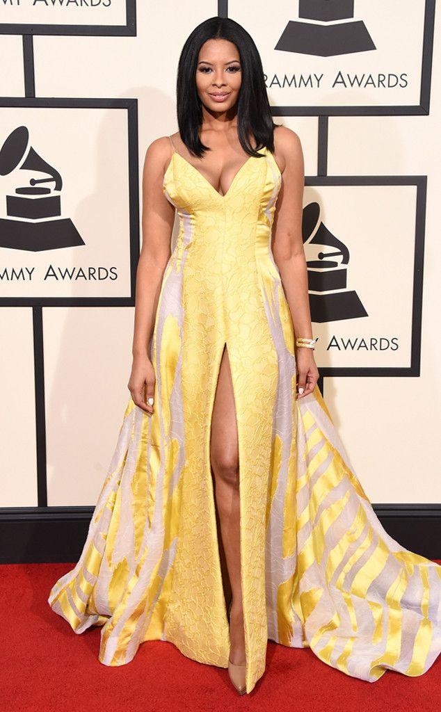 Grammys 2016 red carpet fashion police.  Vanessa Simmons.